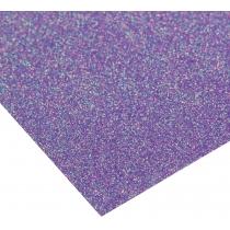 Картон з блискітками флуоресцентний 290±10 г/м 2. Формат A4 (21х29,7см), глибокий пурпурний