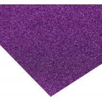 Картон з блискітками 290±10 г/м 2. Формат A4 (21х29,7см), фіолетовий
