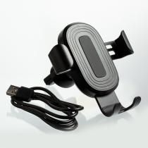 Автомобільний безпровідний зарядний пристрій Optima 4117, 10 W output, колір чорний