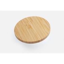 Безпровідний зарядний пристрій Optima 4116, 10 W output, колір натульної деревини
