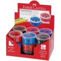 Чинка пластикова повійна кольорова