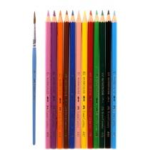 Олівці кольорові12 кол. акварельні