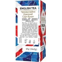Чай чорний міцний пакетований Lovare English tea 24шт х 2г