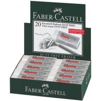 Гумка  Faber-Castell Dust-Free вініловий білий