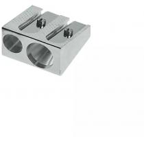 Чинка подвійна металева Faber-Castell без контейнера