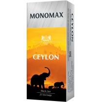 Чай чорний пакетований МОNОМАХ  CEYLON  25шт х 2г