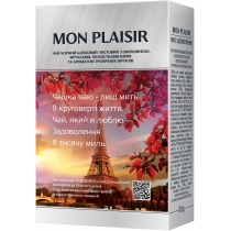 Чай чорний з ароматом тропічних фрукиів МОNОМАХ MON PLAISIR 80г