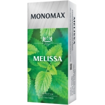 Чай зелений пакетований МОNОМАХ MELISSA 25шт х 1,5г
