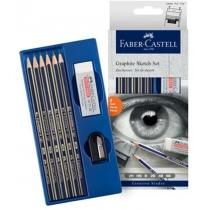 Набір для скетчів Faber-Castell Graphite Sketch Set 8 предметів