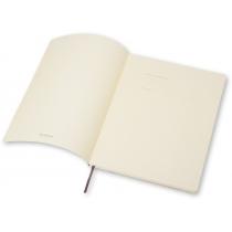 Записник Moleskine Classic 19 х 25 см / Клітинка Чорний М'який
