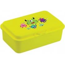 Ланч-бокс (контейнер для їжі) ECONOMIX SNACK 750 мл, неоновий жовтий