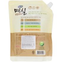 Засіб для миття посуду, овочів та фруктів Lion Chamgreen «Японський абрикос» Запаска, 1 кг 960 мл