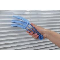 Щітка для жалюзі та радіатора, ECONOMIX CLEANING, блакитна