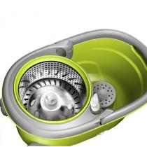 Набір для прибирання швабра з віджимом та дозатором мила, Optima Cleaning