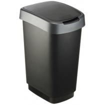 Відро для сміття свінг TWIST асорті, 25л